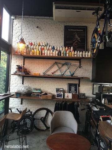 ノンボン公園のカフェ