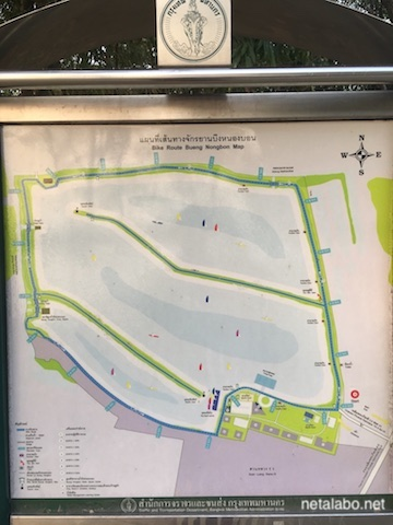 ノンボン公園のマップ
