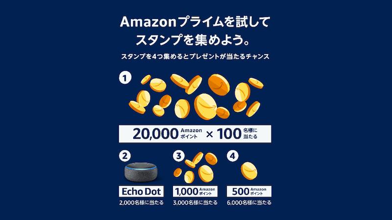 Amazonプライムデースタンプラリー