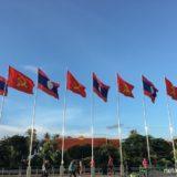 ラオス・ビエンチャンの広場