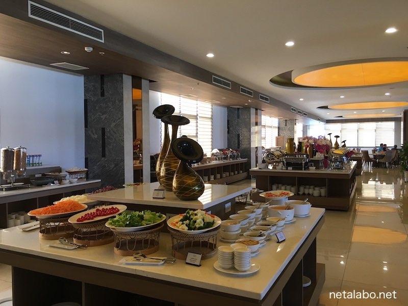 ムオンタンラグジュアリービエンチャン(Muong Thanh Luxury Vientiane)の朝食