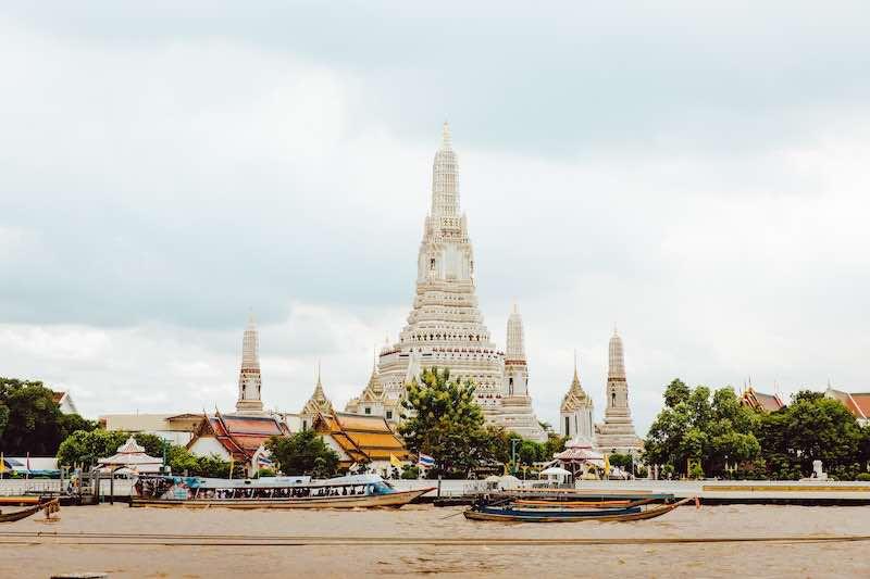 タイ・バンコクのワットアルン