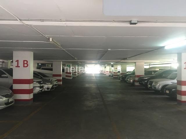 ワットパクナムの駐車場