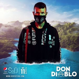 S2O Songkran 2020 Day1 ラインナップ DON DIABLO