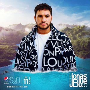 S2O Songkran 2020 Day1 ラインナップ JONAS BLUE