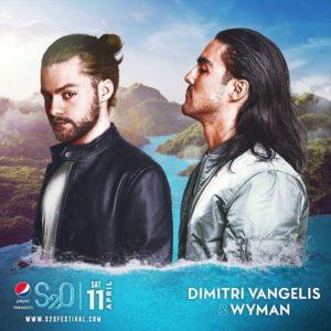 S2O Songkran 2020 Day1 ラインナップ DIMITRI VANGELIS WYMAN