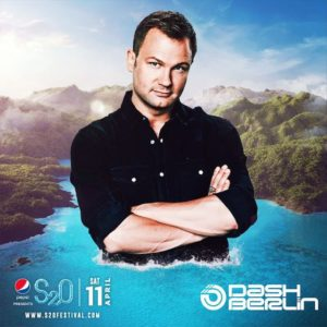 S2O Songkran 2020 Day1 ラインナップ DASH BERLIN