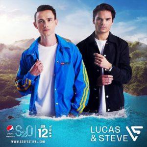 S2O Songkran 2020 Day2 ラインナップ LUCAS & STEVE