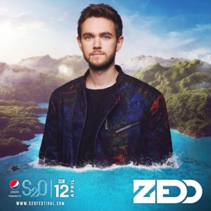 S2O Songkran 2020 Day2 ラインナップ ZEDD