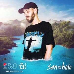 S2O Songkran 2020 Day3 ラインナップ SAN HOLO