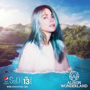 S2O Songkran 2020 Day3 ラインナップ ALISON WONDERLAND