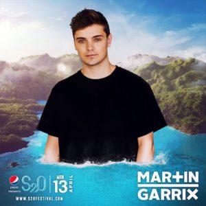 S2O Songkran 2020 Day3 ラインナップ MARTIN GARRIX