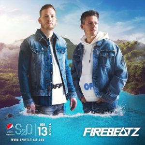 S2O Songkran 2020 Day3 ラインナップ FIRE BEATZ