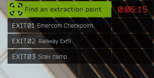 【EFT】Escape from Tarkov:タルコフの出口・脱出地点