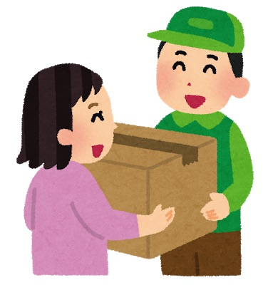 荷物の配達&受け取り