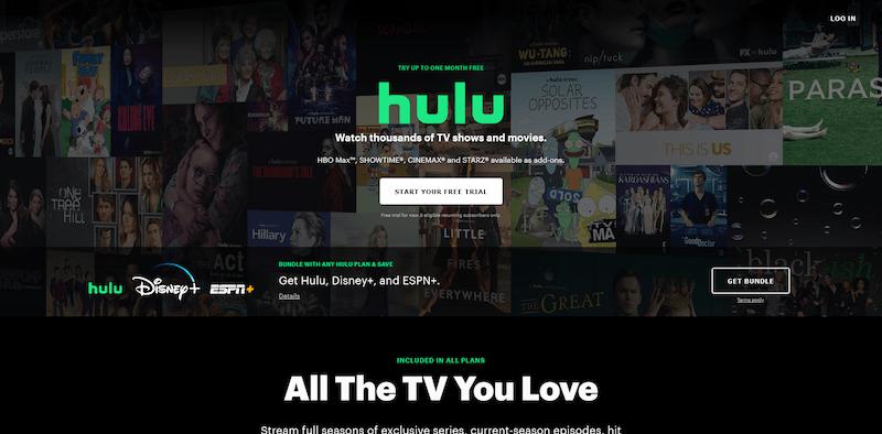 アメリカのHulu.comとは?Hulu US