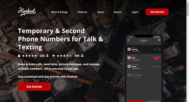 アメリカ・カナダの電話番号・SMSを取得する方法【Hushedアプリの使い方】
