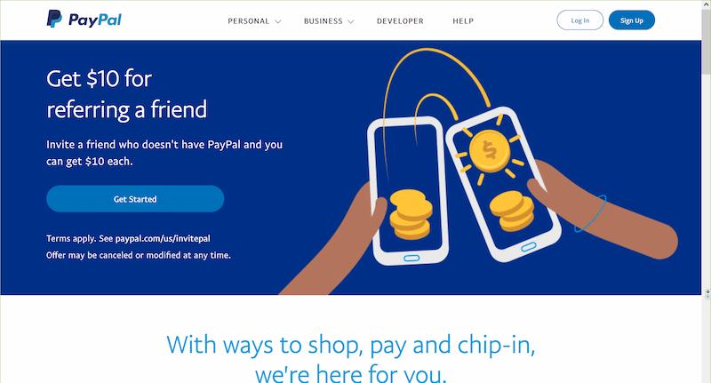 PayPal(米国・US・アメリカ)